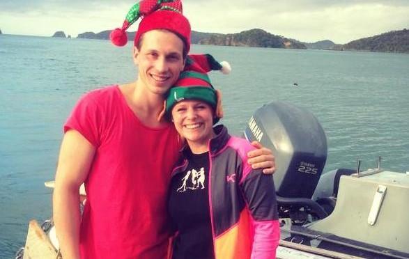 Julhälsning från Tobbe & Linn